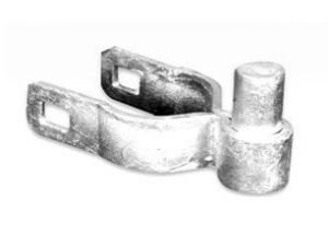 2 1/2″ galvanized residential post hinge – STL