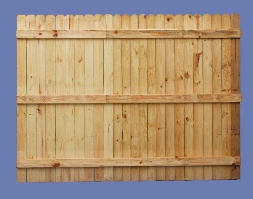 6 h x 8 w PT pine stockade