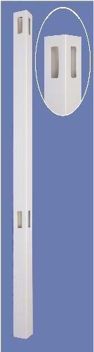 5″ X 5″ X 108″ corner post for 6h t & g – WHT