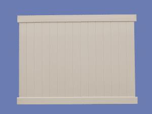 6X8 T&G PRIVACY PVC PANEL TAN